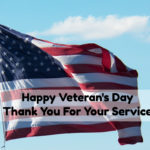 Happy Veteran's Day – Thank a Vet